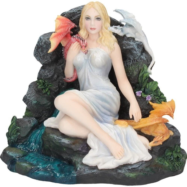 Maiden and the Dragonlings Figurine 16.5cm