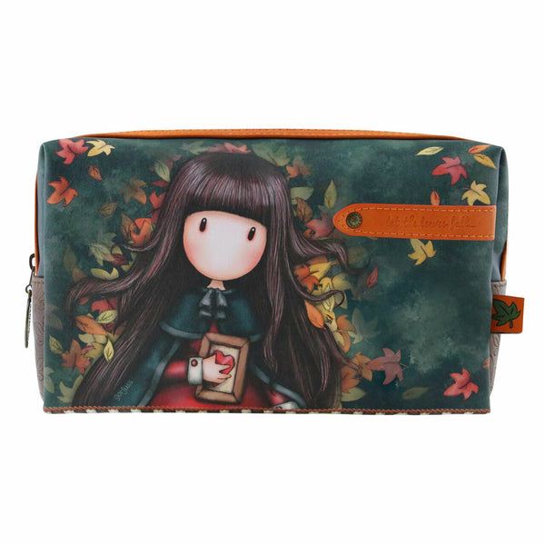 Gorjuss - Large Accessory Case/Bag - Autumn Leaves