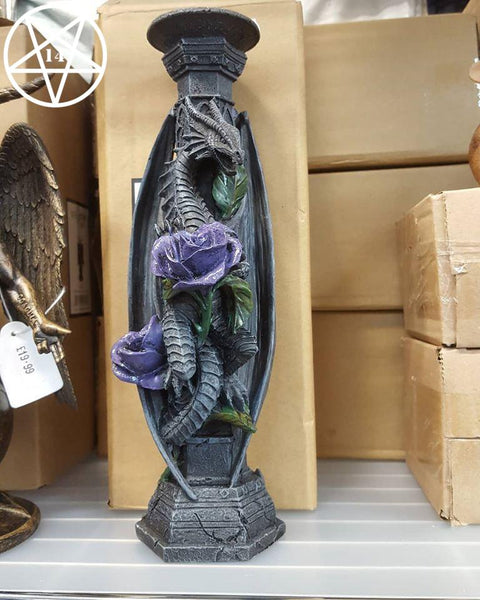 Dragon Beauty Candlestick Ornament (Anne Stokes)