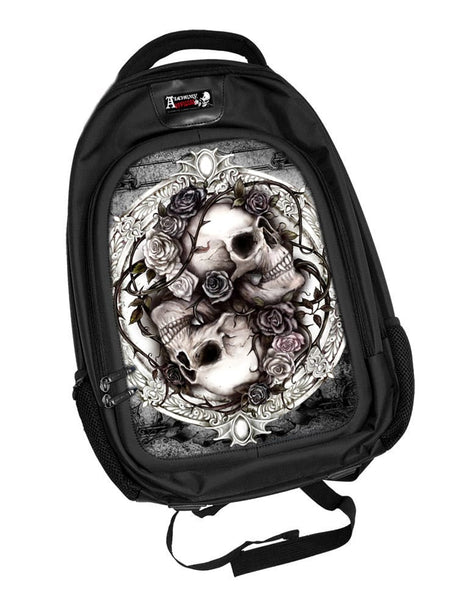 Alchemy 'Diosurri' Skull Roses Backpack