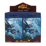 WATER DRAGON INCENSE CONES DESIGN BY ANNE STOKES