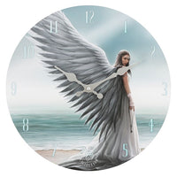 SPIRIT GUIDE WALL CLOCK BY ANNE STOKES