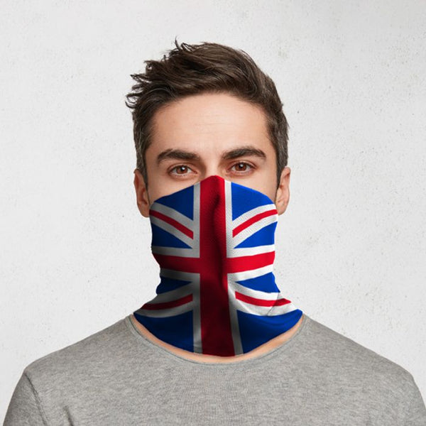 Union Jack Union Flag Neck Scarf Face Covering