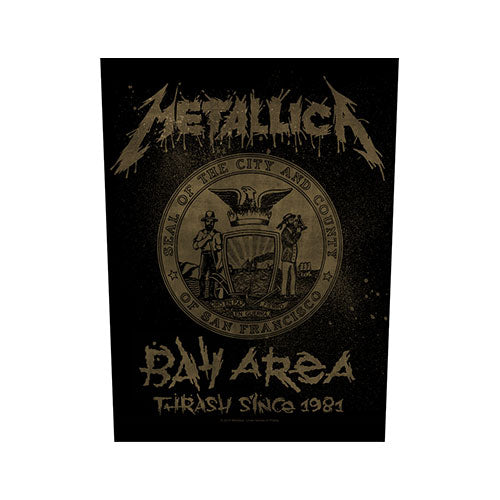 METALLICA BAND BACK PATCH: BAY AREA THRASH