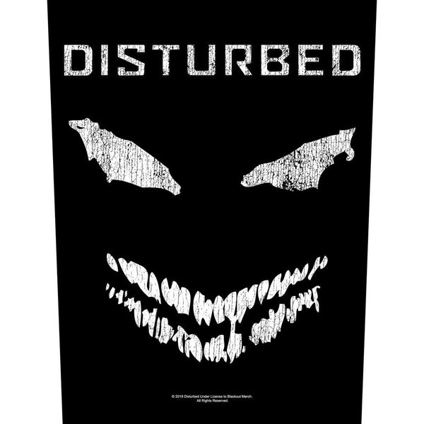 DISTURBED BAND BACK PATCH: FACE