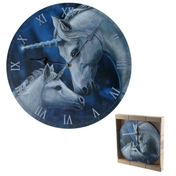 Lisa Parker Sacred Love Unicorn Picture Clock