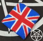 Union Flag Union Jack Wrist Sweatband