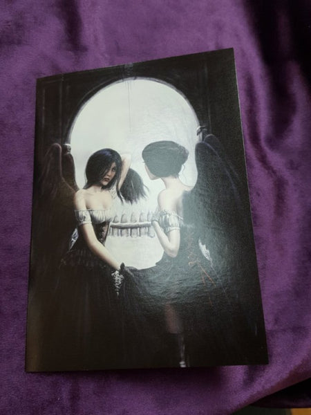 Illusion Skull Fairy Valentine/Any Occasion Greetings Card