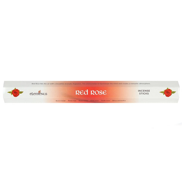 Red Rose fragranced incense sticks