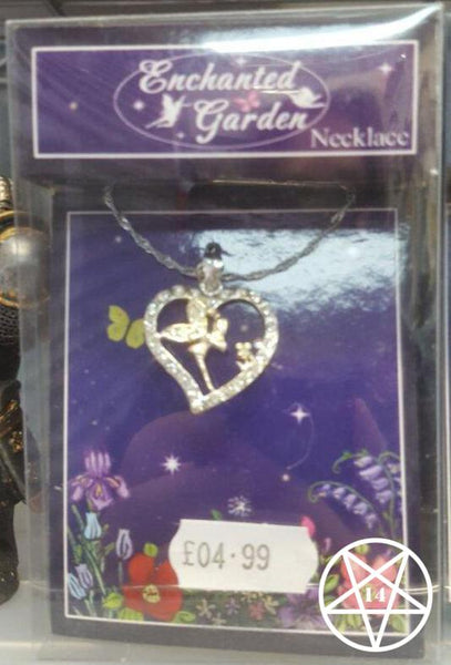 Enchanted Garden Fairy Necklace