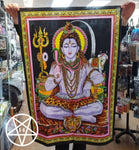 Lord Shiva Cotton Wall Hanging Cloth