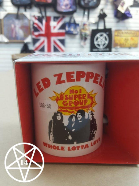 Led Zeppelin Band Mug