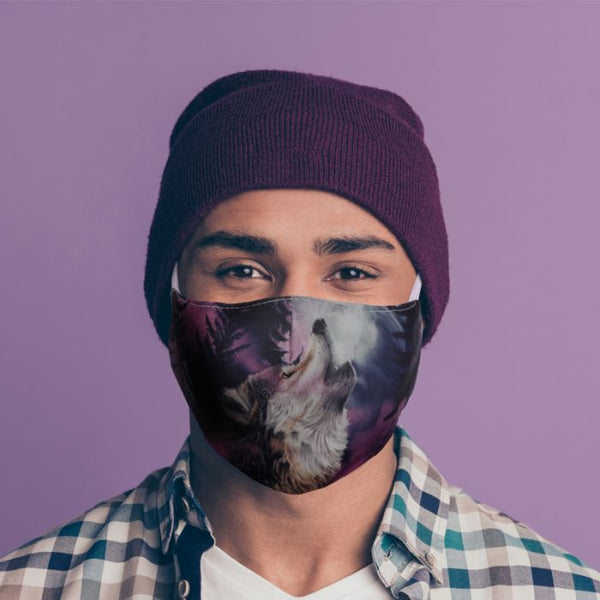 Protector of the North Wolf Reusable Face Mask/Covering