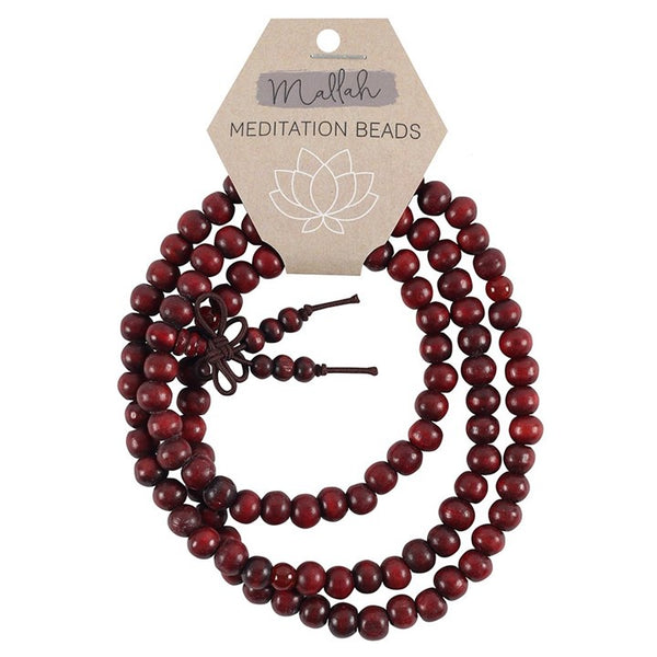 Mallah Meditation Beads Necklace Bracelet Mala
