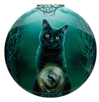 Lisa Parker Magical Cat Compact Mirror Rise of The Witches
