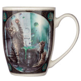 Lisa Parker Hubble Bubble Cat and Kittens Porcelain Mug