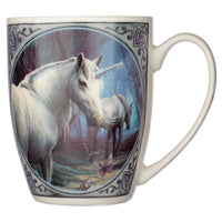 The Journey Home Unicorn New Bone China Mug Design by Lisa Parker