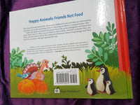 HAPPY ANIMALS, FRIENDS NOT FOOD BOOK