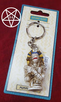 Egyptian Mummy Pharaoh Figurine Keyring