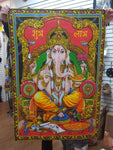 Lord Ganesh/Ganesha Cotton Wall Hanging
