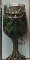 Wylde Jack Tree Spirit Green Man Goblet 20cm