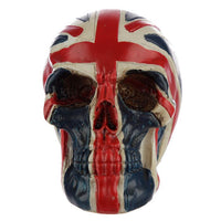 Union Flag Skull Head Ornament small
