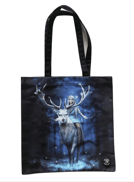 Anne Stokes 'Fantasy Forest' Stag Tote Bag