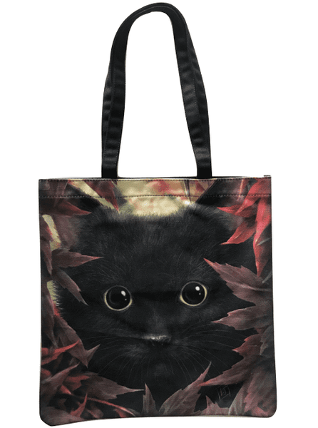 SheBlackDragon 'Autumn Cat' Tote Bag