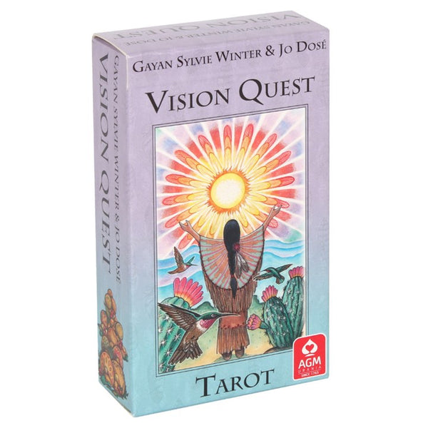 VISION QUEST TAROT CARDS - THE NATIVE AMERICAN WISDOM