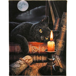 19X25CM WITCHING HOUR CANVAS PICTURE PLAQUE BY LISA PARKER