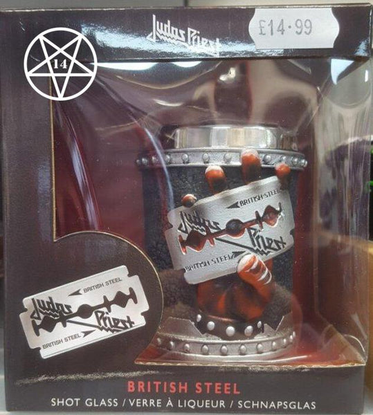 Judas Priest Shot Glass 7.5cm
