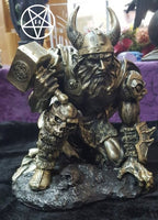 Norse God Thunder of Thor Figurine 19cm