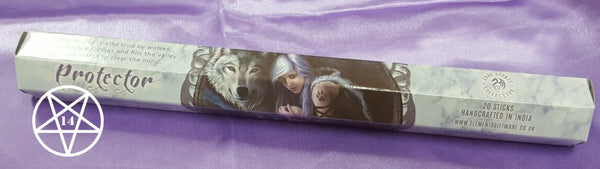 Protector Camomile Incense Sticks design by Anne Stokes
