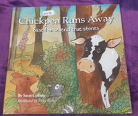 CHICKPEA RUNS AWAY BOOK