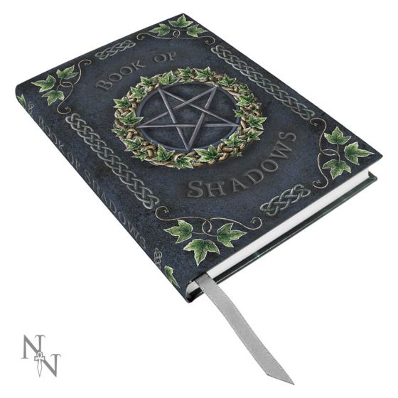Embossed Pentagram A5 Book of Shadows Ivy Journal 17cm