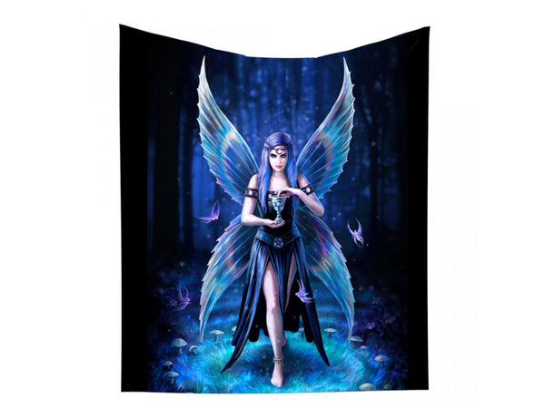 Enchantment Throw Blanket Design by Anne Stokes 160cm