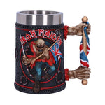Iron Maiden Band Eddie The Trooper Tankard Mug Officially Licensed Merchandise