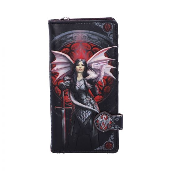 18.5cm Anne Stokes Valour Dragon Warrior Purse