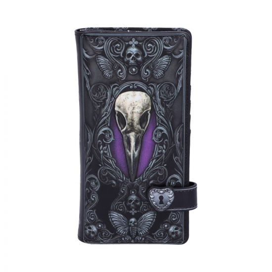 Edgar Allen Poe Nevermore Raven Purse 18.5cm