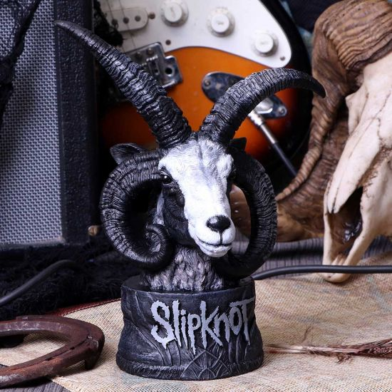 Officially Licensed Slipknot Flaming Goat Bust Figurine 23cm