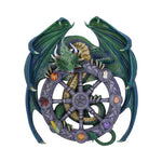 Pre-order 30cm Design by Anne Stokes, Year of the Magical Dragon Pagan Wheel of the Year Wall Plaque