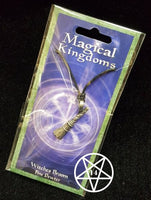 Magical Kingdoms Witches Broom Pendant