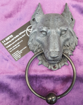 Wild Wolf Door Knocker 21.5 cm