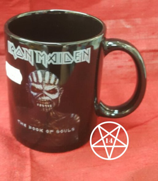 Iron Maiden Band Book of Souls Mug