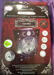 """Lunar Wolf"""" 26x18cm Crystal Art Notebook ANNE STOKES"