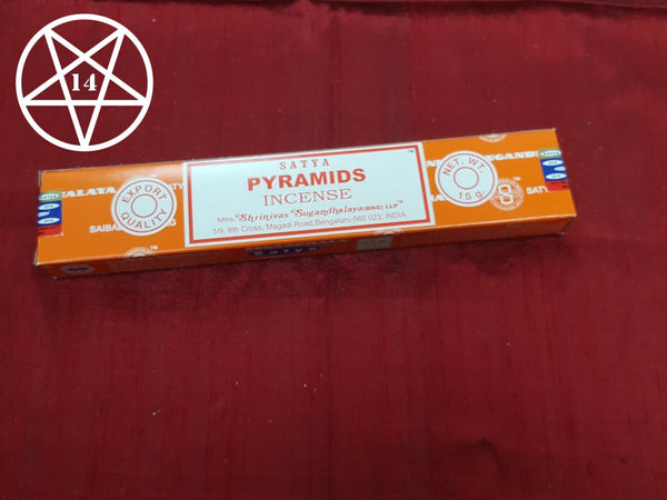 Satya Pyramids Incense Sticks