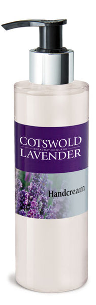 Lavender Handcream Pump Dispenser