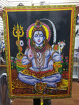 Lord Shiva Cotton Wall Hanging