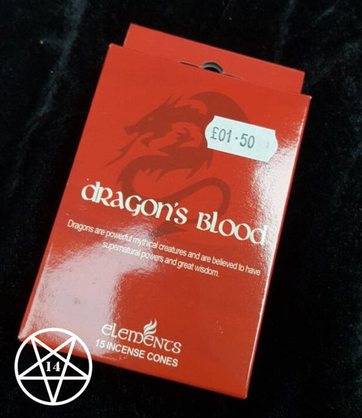 Dragon's Blood Incense Cones
