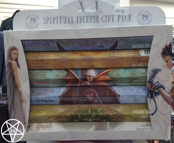 Spiritual Incense Pack Multi Pack Incense Sticks design by Anne Stokes